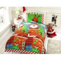 Christmas Santas Chimney Duvet Cover Set
