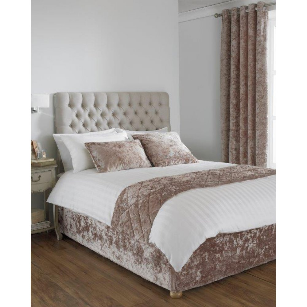 Easy fit valance for Modern divan bed