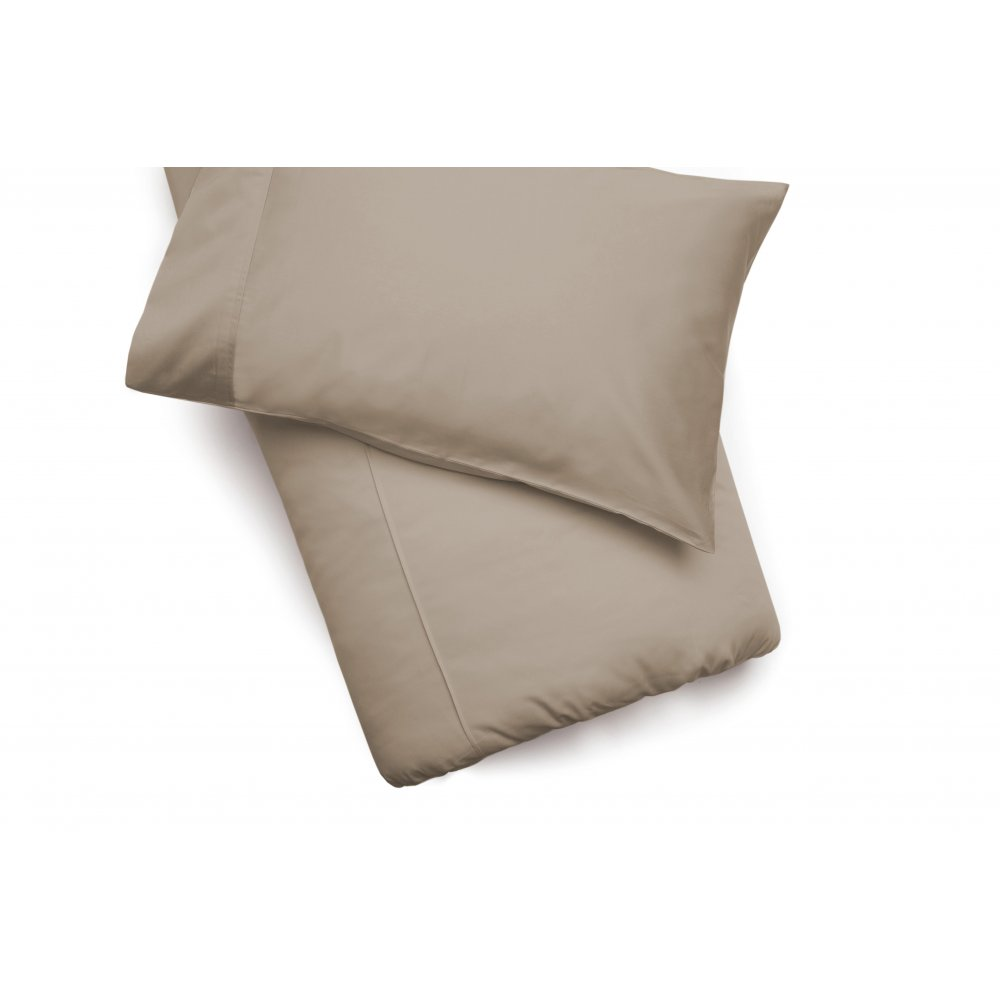 450 Thread Count Pima Cotton Duvet Cover in Walnut