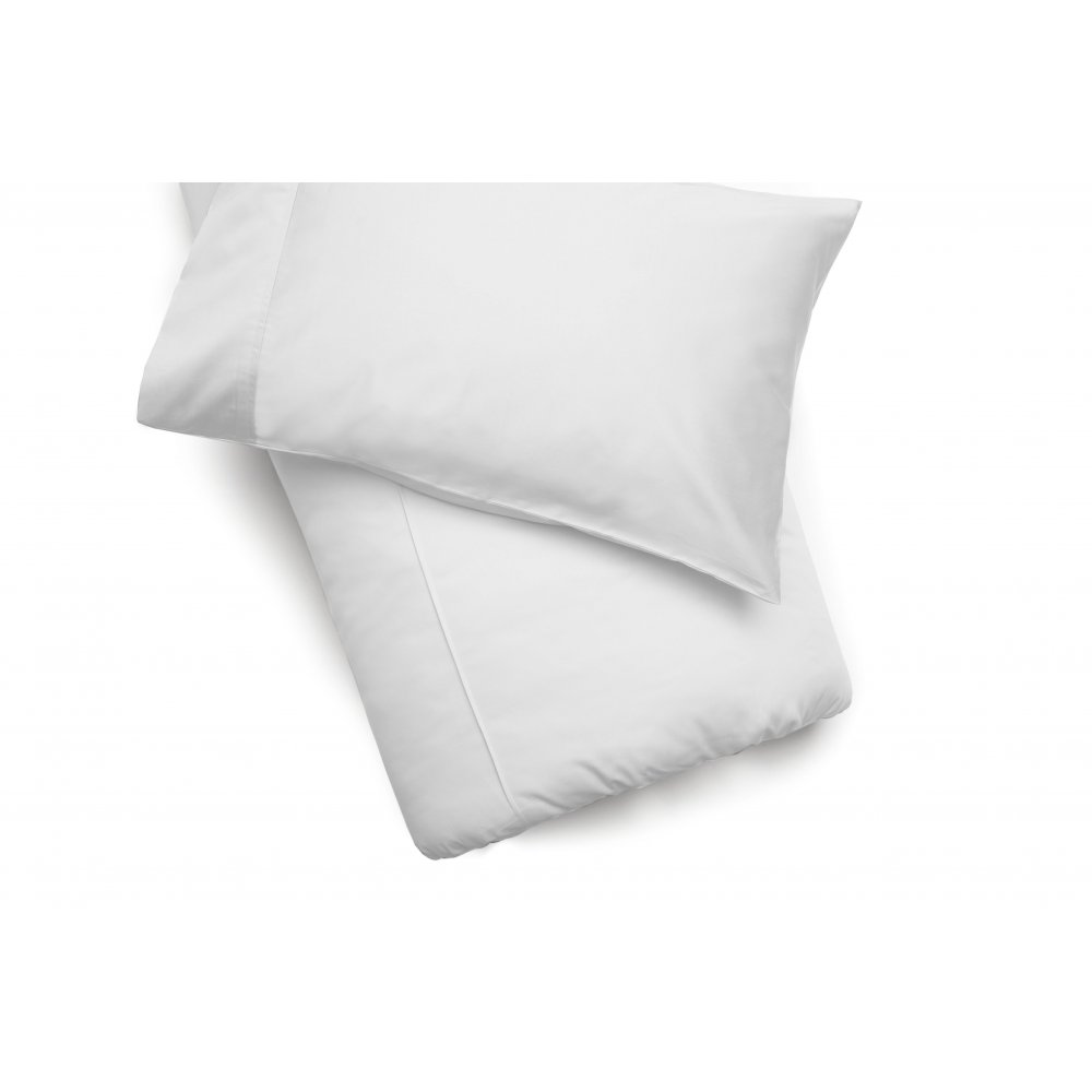450 Thread Count Pima Cotton Duvet Cover in White