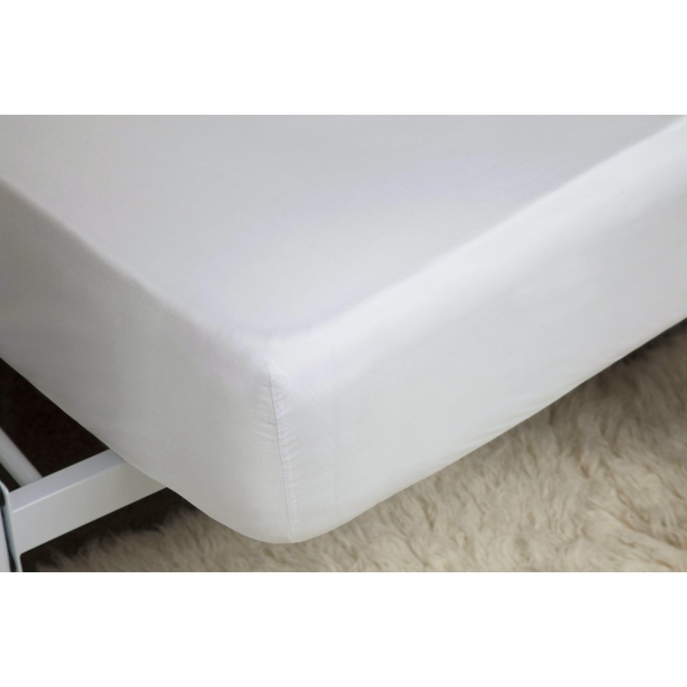 450 Thread Count Pima Cotton Deep Fitted Sheet in White