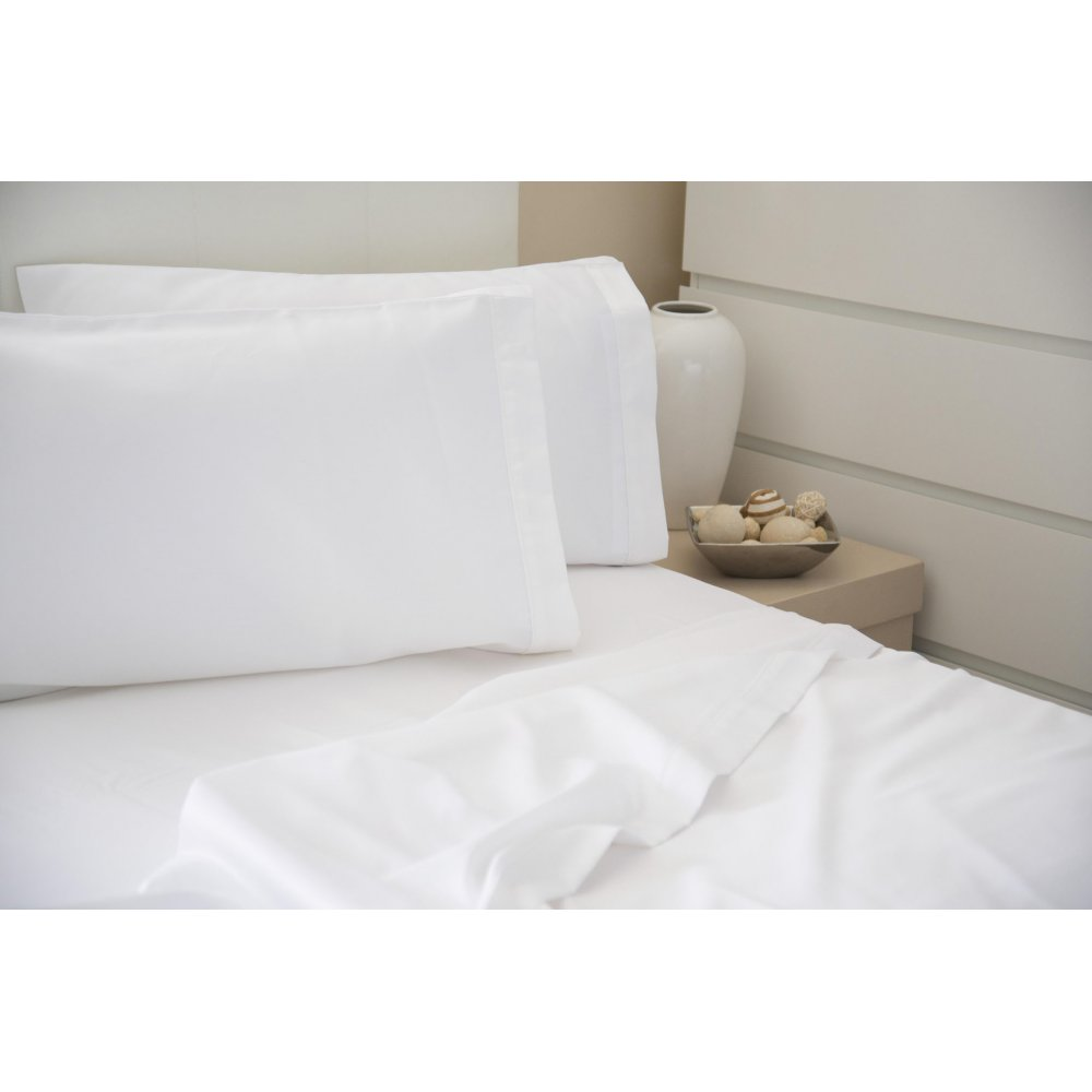 200 Thread Count Combed Cotton Fitted Sheet