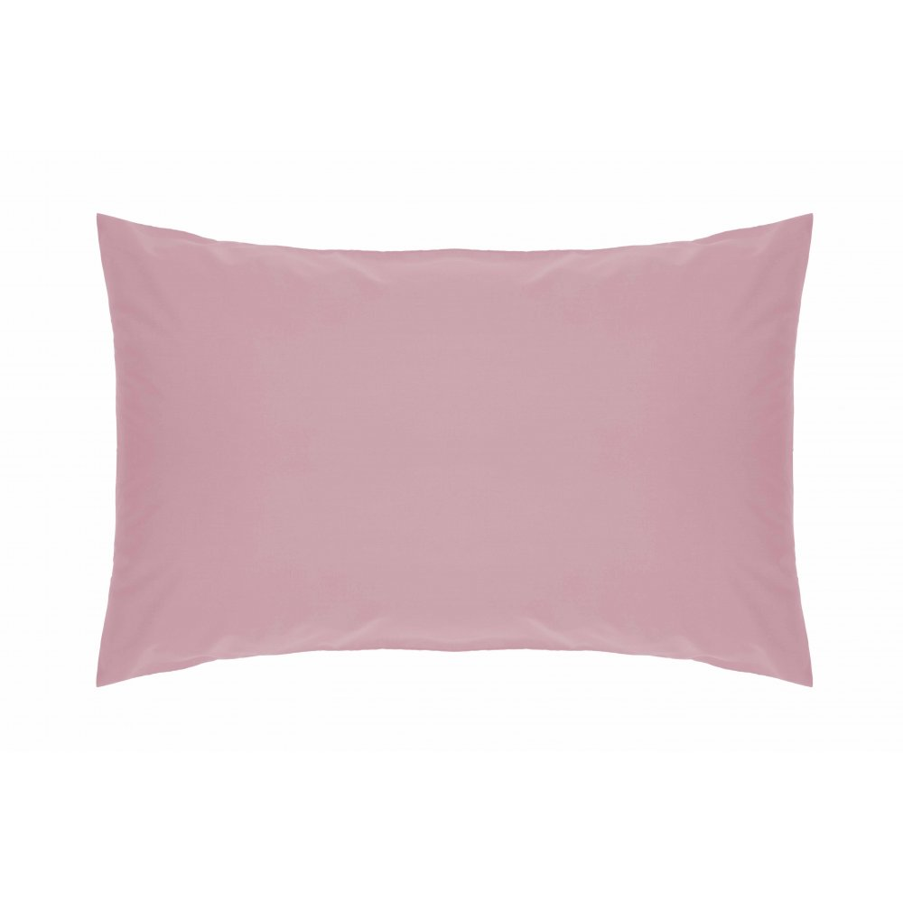 200 Thread Count Pure Combed Cotton Bed Linen In Pink